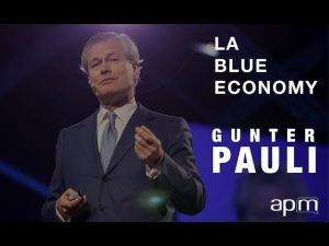 Gunter Pauli : l'économie bleue #futurdelasociété - apm.fr