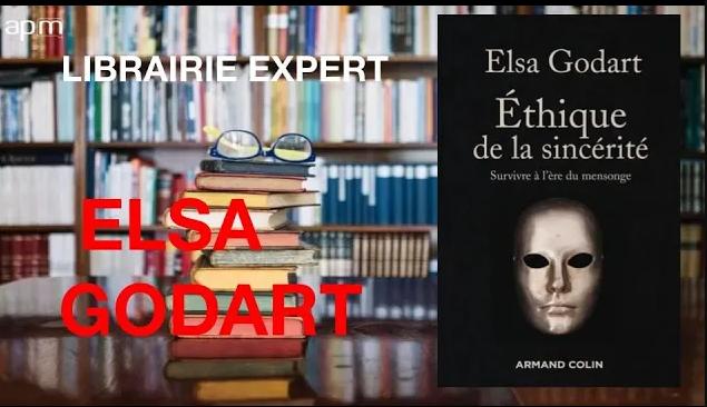 La Librairie des experts : Elsa Godart sur l'éthique de la sincérité